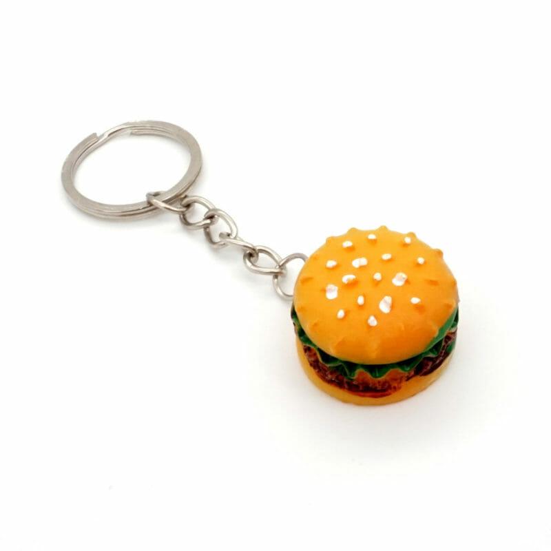 Schlüsselanhänger Burger