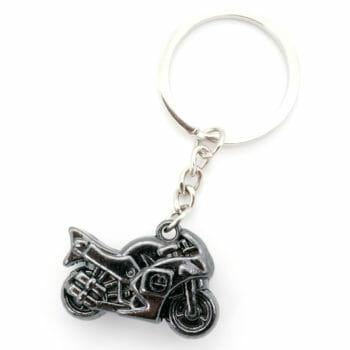 Schlüsselanhänger Rennmotorrad