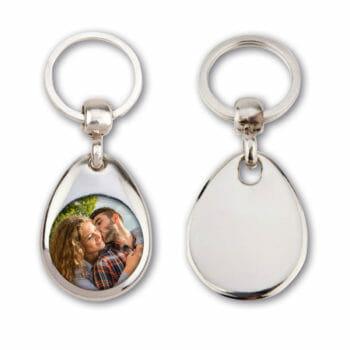 Schlüsselanhänger mit deinem Foto oder Logo