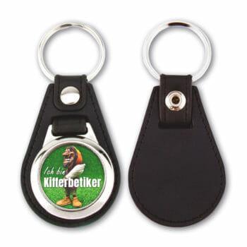 Schlüsselanhänger Ich bin Kifferbetiker
