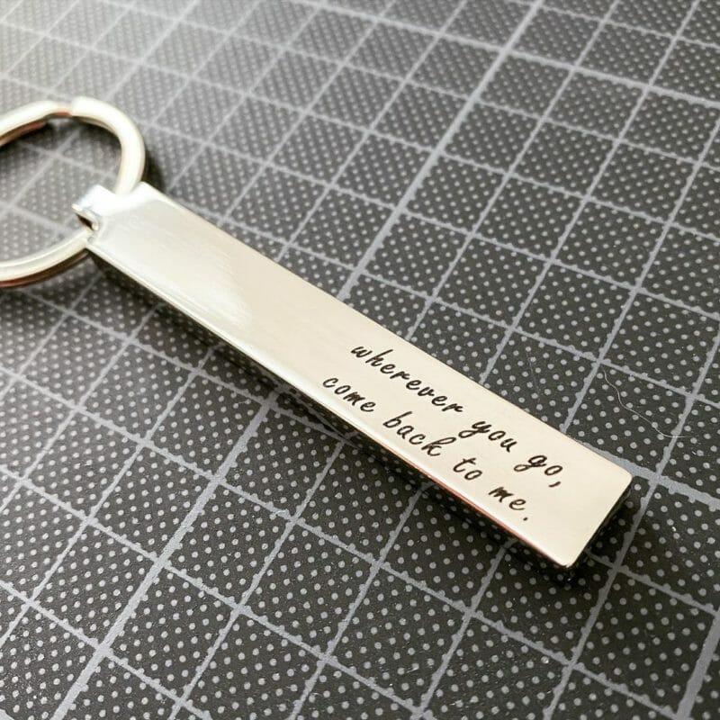 Schlüsselanhänger Blocky Beispiel