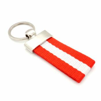 Schlüsselanhänger Flagge Oesterreich