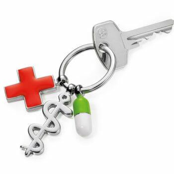Schlüsselanhänger Troika Get Well Gesundheit Medizin