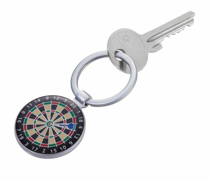Schlüsselanhänger Dartscheibe