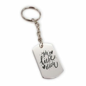Schlüsselanhänger Metsa Ich liebe dich
