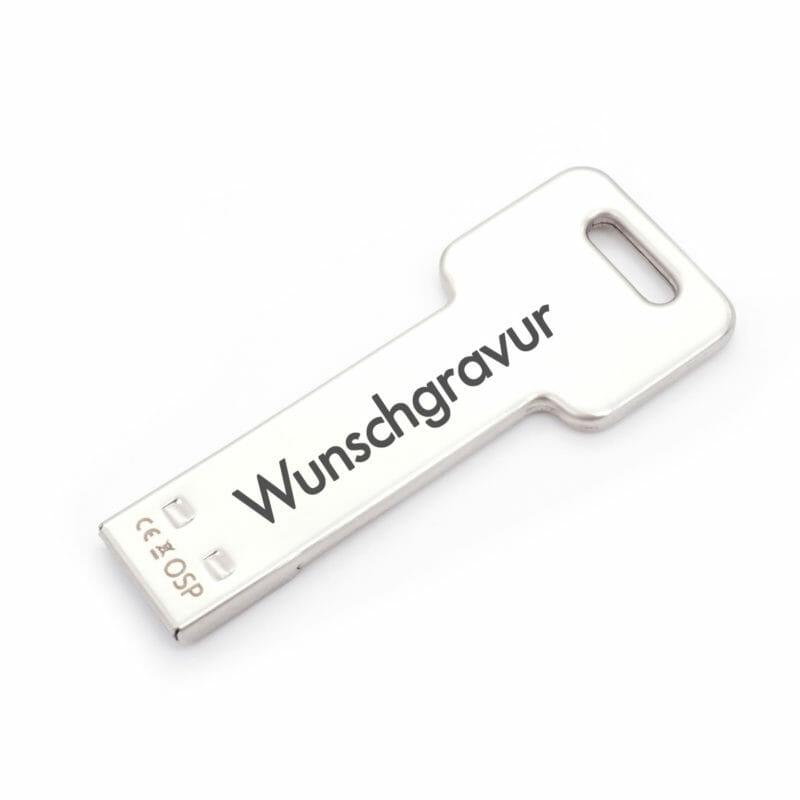 Schlüsselanhänger USB Stick mit Wunschgravur