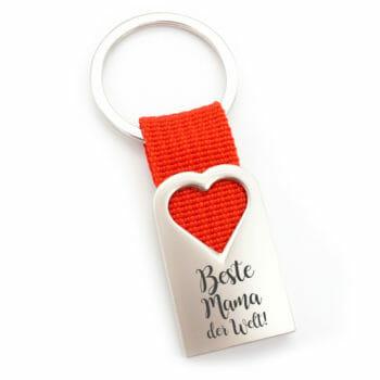 Schlüsselanhänger Beste Mama der Welt