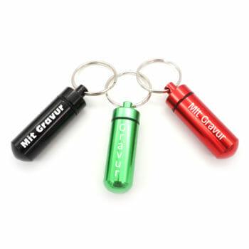 Schlüsselanhänger Pillenbox Beispiele