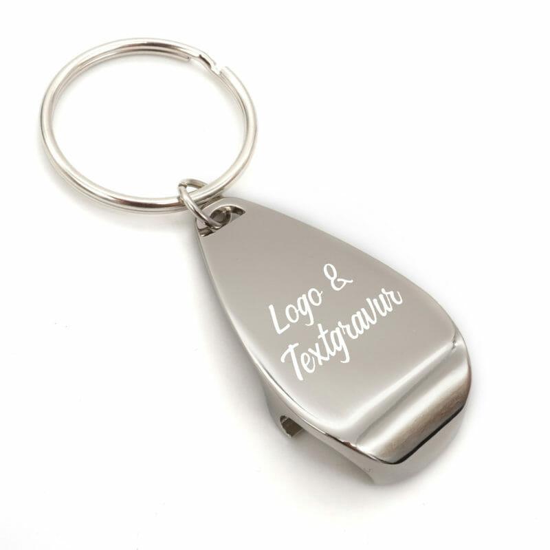 Schlüsselanhänger Flaschenöffner Kalinka mit Gravur